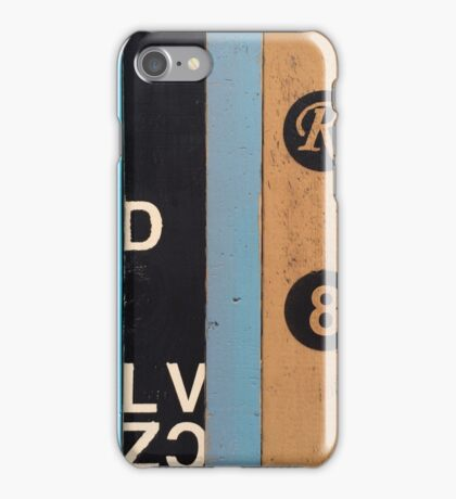 The Sturmey Archer Three Speed Shifter iPhone Case/Skin