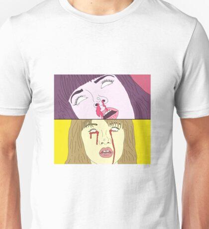 Tarantino Girls - Mia Wallace / Gogo Yubari Unisex T-Shirt