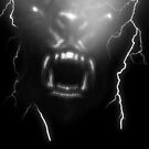 Night Wolf by sisterwolf