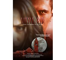 """""""Little Red"""" Dark Beauty Movies Poster Photographic Print"""
