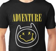 Adventure Time - Nirvana Mashup Unisex T-Shirt