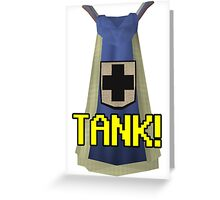 RUNESCAPE 99 DEFENCE CAPE! Greeting Card
