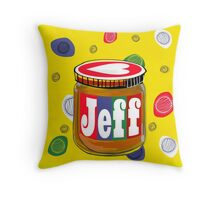 My Name is Jeff Throw Pillow