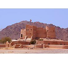 Fujairah Fort, UAE Photographic Print