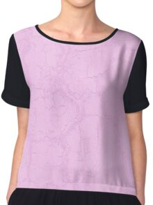 Elegant Lavender Soft Pink Pastel Abstract Patterns Chiffon Top