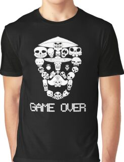 Game Over(White on Dark) Graphic T-Shirt