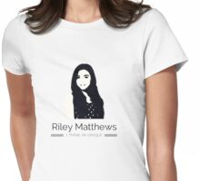 Riley Matthews - Unique Womens Fitted T-Shirt