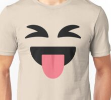 Emoji Wink Eyes and Tongue Out Unisex T-Shirt