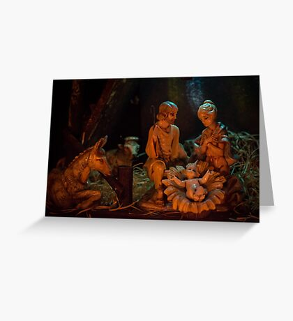 Nativity (landscape) Greeting Card