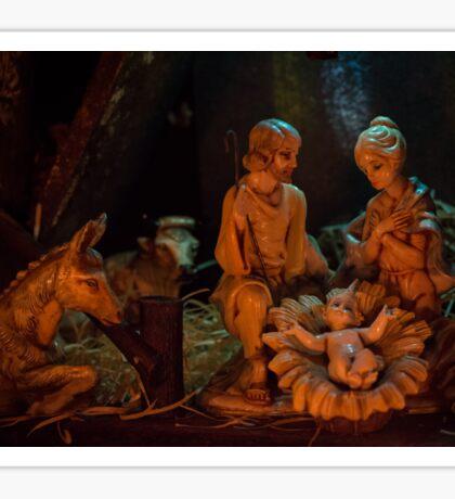 Nativity (landscape) Sticker