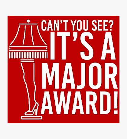 Major Award Photographic Print