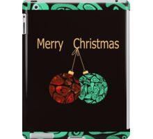 Christmas . A wonderful holiday gift ! iPad Case/Skin