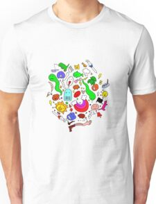 Colourful Characters Unisex T-Shirt