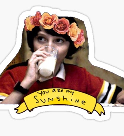 Stranger Things- Mike Wheeler Sticker