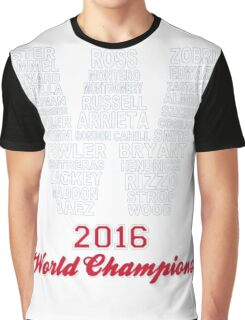 FLY THE W 2016 WORLD CHAMPIONS T- SHIRT Graphic T-Shirt