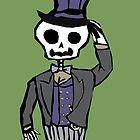 Sir Skeleton  by hispurplegloves
