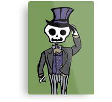 Sir Skeleton  Metal Print