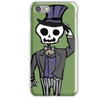 Sir Skeleton  iPhone Case/Skin