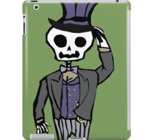 Sir Skeleton  iPad Case/Skin