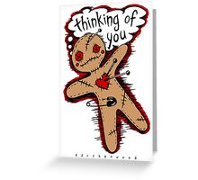 Voodoo Love Doll Greeting Card
