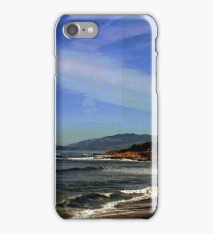A View With a Glitch  iPhone Case/Skin