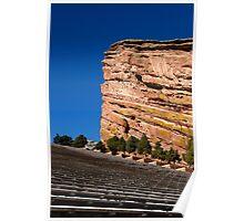 Red Rocks in Denver, Colorado Poster