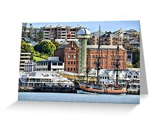 The Endeavour Sailing Ship - Newcastle NSW Australia Greeting Card