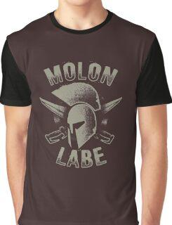 Molon Labe T-shirt Graphic T-Shirt