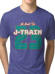 All Aboard the Ajayi J-Train Tshirt Tri-blend T-Shirt