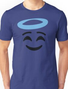 Emoji with Angel Halo Unisex T-Shirt