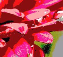 A Red Flower Sticker