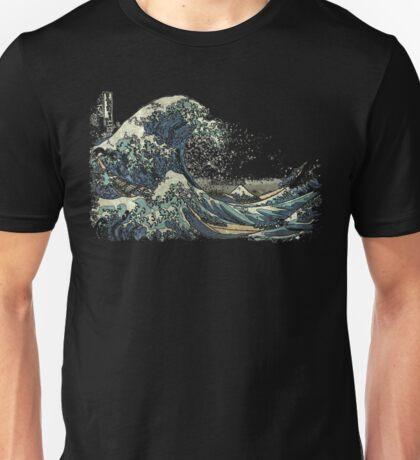 The Great Wave off Kanagawa (神奈川沖浪裏) Unisex T-Shirt