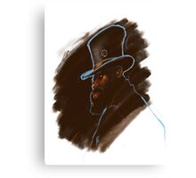 The Hat club Canvas Print