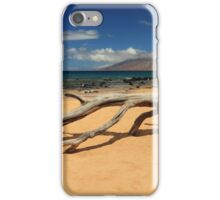 A Branch On Keawakapu Beach iPhone Case/Skin