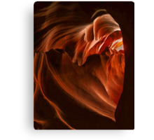 The heart of Antelope Canyon Canvas Print