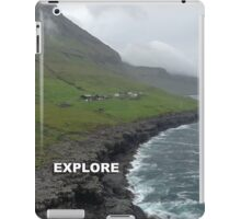 Explore Skaelingur iPad Case/Skin