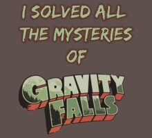 I solved all the mysteries of Gravity Falls by Krishthian