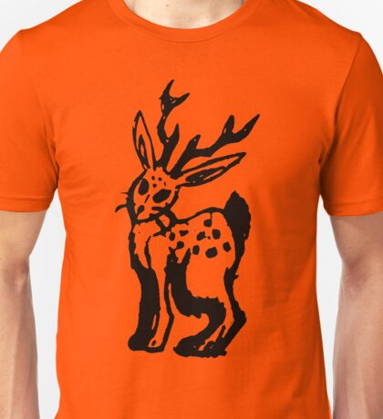 Inked Jackalope Cute & Creepy Unisex T-Shirt