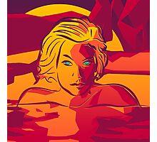 Sunset Swim [Imagine Series] Photographic Print