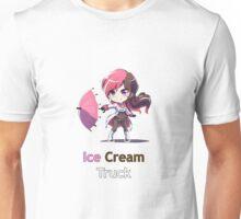 RWBY Neo - Ice Cream Truck (center) Unisex T-Shirt