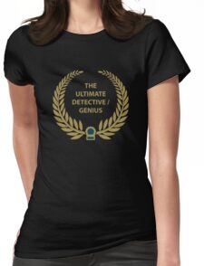 Ultimate Detective/Genius Womens Fitted T-Shirt
