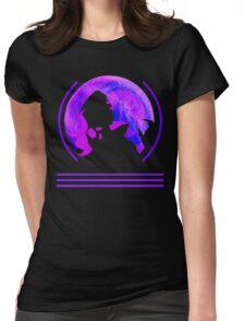 MOONLIT HACKER Womens Fitted T-Shirt
