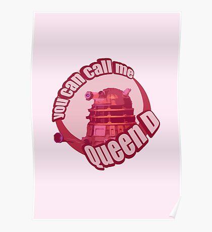 Queen Dalek Poster