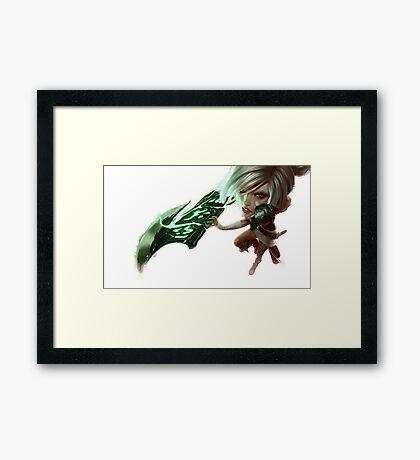 DK Mode - Riven Framed Print