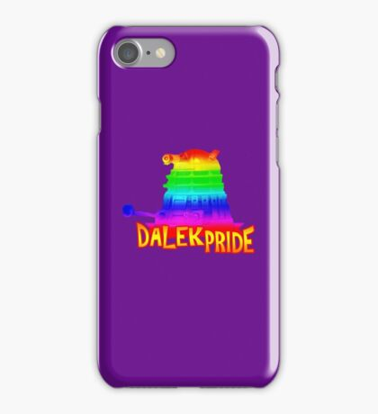 Dalek Pride iPhone Case/Skin