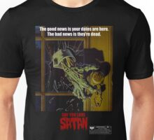 Say You Love Satan 80s Horror Podcast - Night of the Creeps Unisex T-Shirt