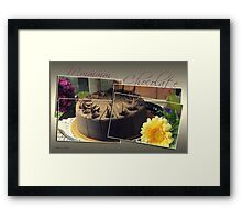 It's My Chocolate Party ~ Mmmmm Framed Print