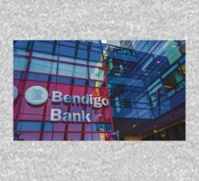 Colourful Bendigo Bank Reflections - Bendigo, Victoria One Piece - Long Sleeve