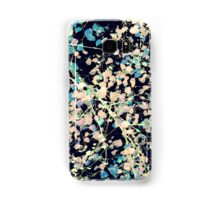 Nature Pattern # 5 - Birch 2 (Blue) Samsung Galaxy Case/Skin
