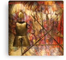 Armour; Knights Of St John Canvas Print